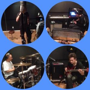セルフレコーディングで新アルバム制作中です。
